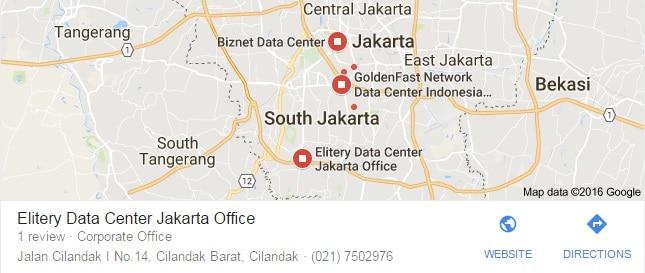 hasil pencarian kata kunci menampilkan google maps