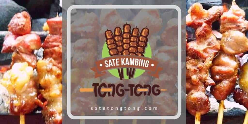 contoh situs web satu halaman: satetongtong.com