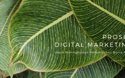 Proses Digital Marketing untuk Kesuksesan Bisnis Anda
