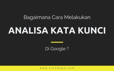 Cara Analisa Keyword Menggunakan Fitur di Google Ads