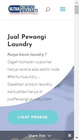 ss jual pewangi laundry