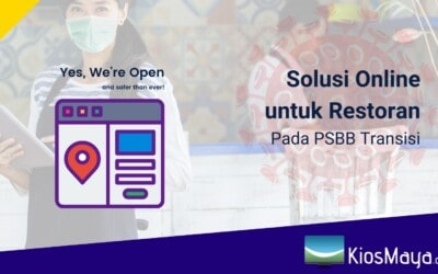 Solusi Online untuk Restoran Saat Masa PSBB Transisi