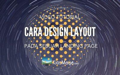 Tutorial Cara Design Layout Website Landing Page